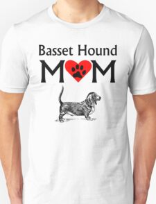Basset Hound Mom T-Shirt