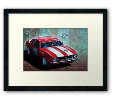 Tony Hubbard Camaro Framed Print