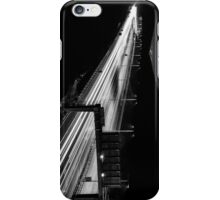 Monochrome Light Trails Image Phone Case iPhone Case/Skin