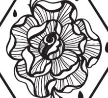 Lonely Rose Sticker