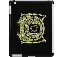 Space core: quote core iPad Case/Skin