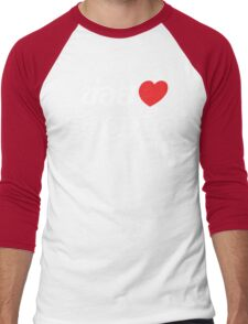 I Heart (Love) Roi Et, Isaan, Thailand Men's Baseball ¾ T-Shirt