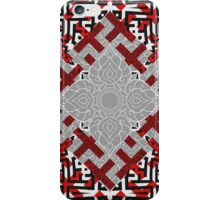 Sayagata and Thai Layered 1 iPhone Case/Skin