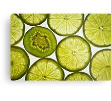 Green Slice Metal Print