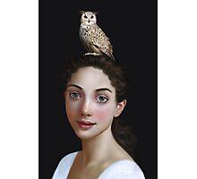 Miss Owl Photographic Print