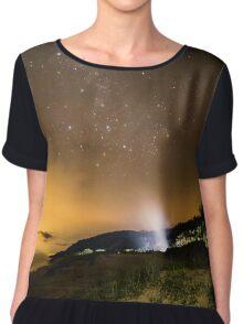 Milky Way Camping Chiffon Top