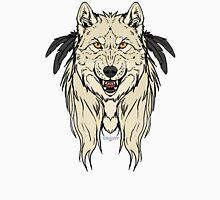 Tribal Werewolf - White Unisex T-Shirt