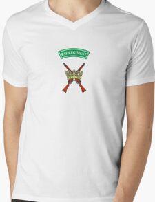 RAF Regiment Mens V-Neck T-Shirt