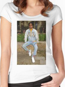 A$AP Rocky x GUCCI Women's Fitted Scoop T-Shirt