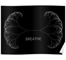 Breathe - Minimal Generative Design Poster