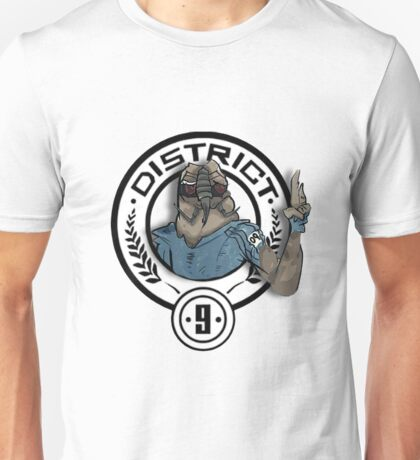 Hunger Games District 9 Mashup Unisex T-Shirt