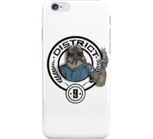 Hunger Games District 9 Mashup iPhone Case/Skin