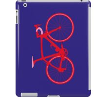 Bike Pop Art (Red & Pink) iPad Case/Skin