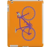 Bike Pop Art (Purple & Blue) iPad Case/Skin