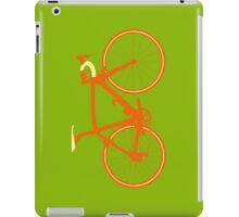 Bike Pop Art (Brown & Yellow) iPad Case/Skin