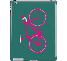 Bike Pop Art (Pink & White) iPad Case/Skin