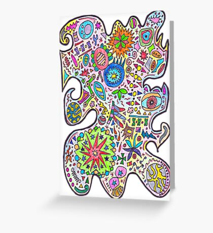 Master Doodle Greeting Card