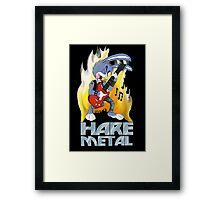 """Hare"" Metal Framed Print"