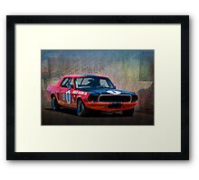 Shelby Racing Co Mustang Framed Print