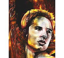 Justin, featured in Altered by Imagination Photographic Print