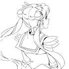 Sailor Moon - Light art by Sandy W