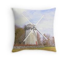 Jamestown Windmill Throw Pillow