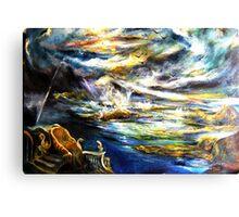 CRADLE OF THE SUN Canvas Print