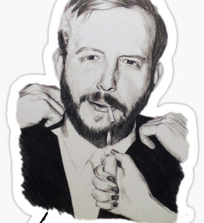 Justin Vernon/Bon Iver Drawing Sticker
