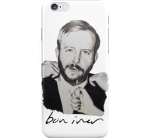Justin Vernon/Bon Iver Drawing iPhone Case/Skin