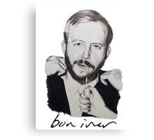 Justin Vernon/Bon Iver Drawing Canvas Print