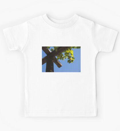 Blue Sky Grape Harvest - Thinking of Fine Wine Kids Tee