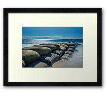 Maroochydore Sandbags Framed Print