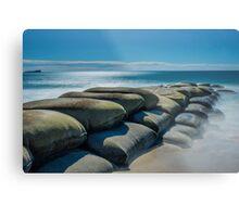 Maroochydore Sandbags Metal Print