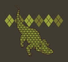 Artie the Argyle Alligator by drawsgood