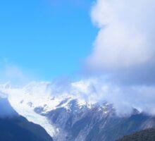 Franz Joseph Glacier, New Zealand Sticker