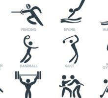 Olympics Icon Pictograms  Sticker