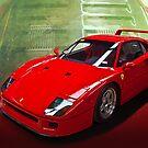 Ferrari F40 by Stuart Row