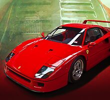 Ferrari F40 by Stuart Row