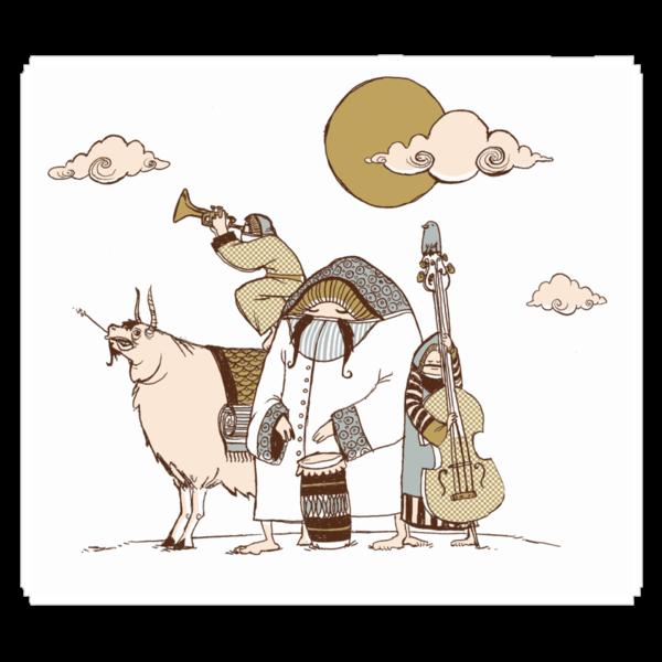 Wandering Troubadours by drawsgood