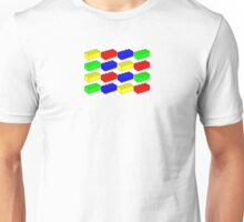 Bricks and Bricks and Bricks Unisex T-Shirt