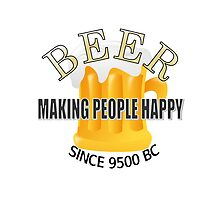 Beer Making People Happy by Almdrs