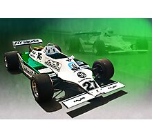 Williams FW07/04 Photographic Print