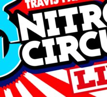 nitro circus live cross Sticker