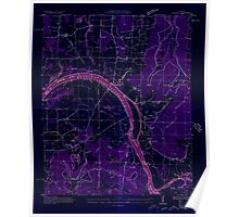 USGS TOPO Map Alabama AL Farley 303815 1936 24000 Inverted Poster