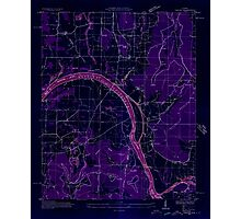 USGS TOPO Map Alabama AL Farley 303815 1936 24000 Inverted Photographic Print