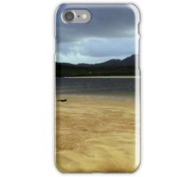 Cape Wrath sand bar iPhone Case/Skin