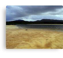 Cape Wrath sand bar Canvas Print