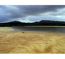 Cape Wrath sand bar Photographic Print