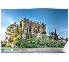 Castell de Balsareny (Catalonia) Poster