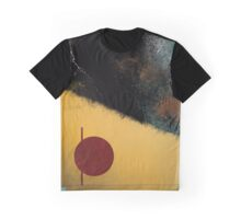 Ceramic Pixels Abstract Expressionistic Digital Painting Graphic T-Shirt